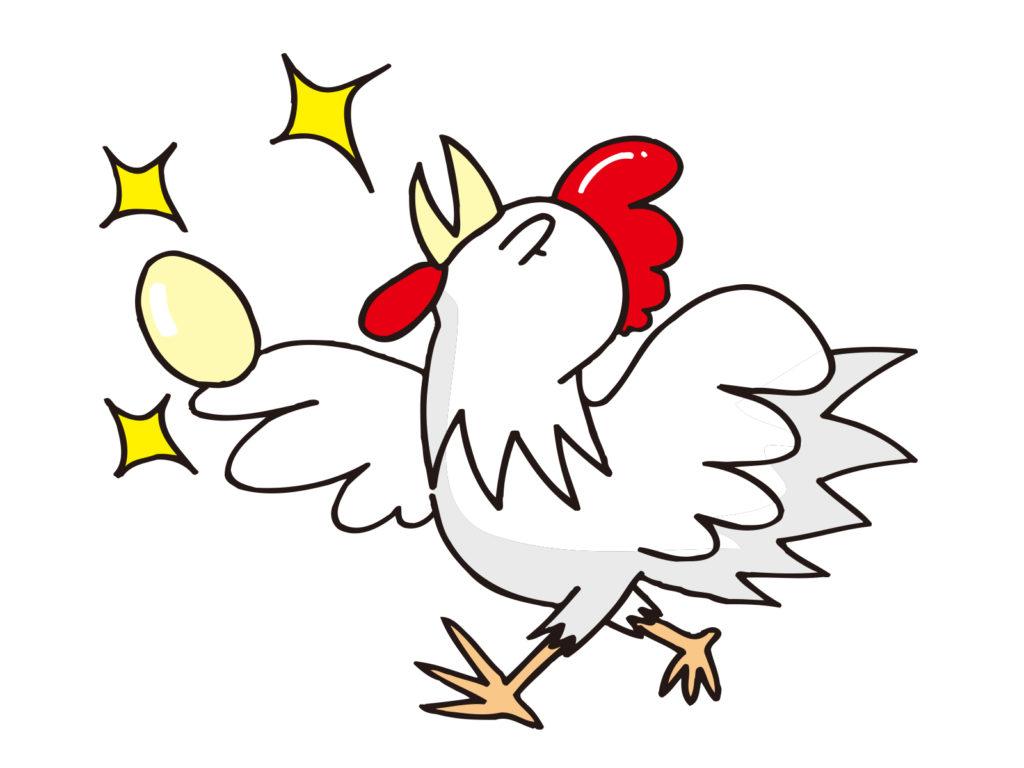 金の卵を産むニワトリ
