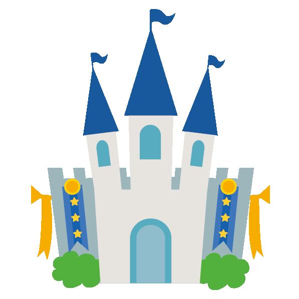 洋風のお城