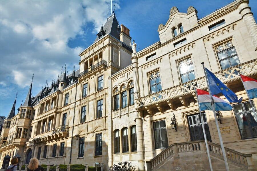 ルクセンブルクの王宮