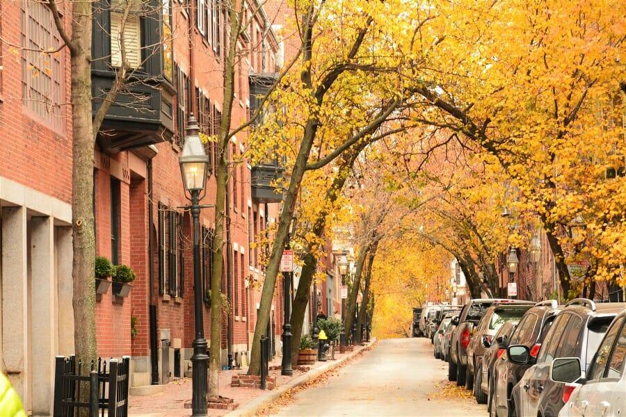 ボストンの街並み