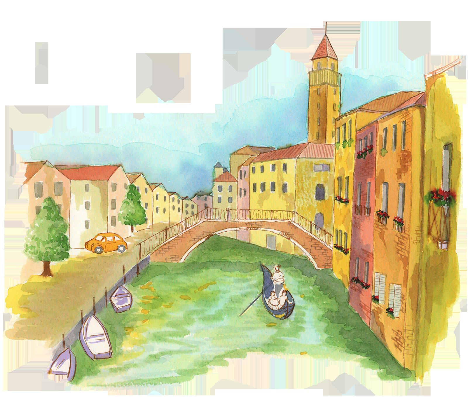 ベネチアの風景