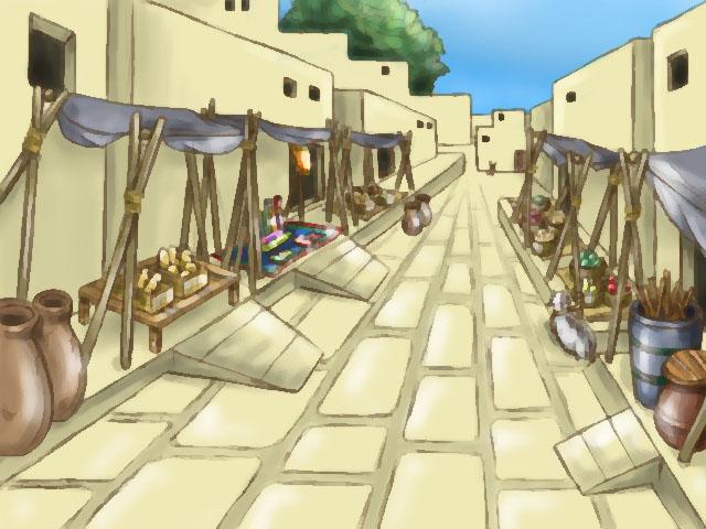 古代の市場